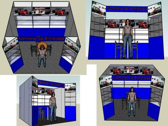 Stands Para Expo Df : Renta de stands para expos congresos sistema